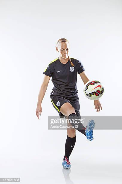 United States National Soccer team member Christie Rampone is photographed for Sports Illustrated on May 2 2015 in Newport Beach California PUBLISHED...