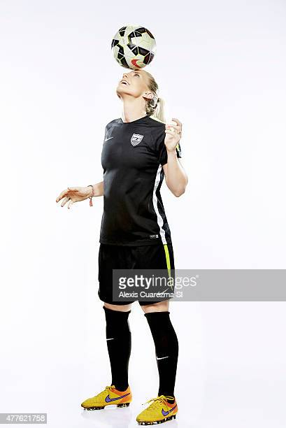 United States National Soccer team member Julie Johnston is photographed for Sports Illustrated on May 2 2015 in Newport Beach California PUBLISHED...