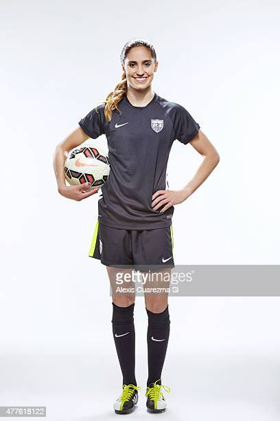 United States National Soccer team member Morgan Brian is photographed for Sports Illustrated on May 2 2015 in Newport Beach California PUBLISHED...