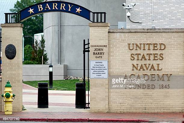 """United States Naval Academy, """"Barry Gate"""""""