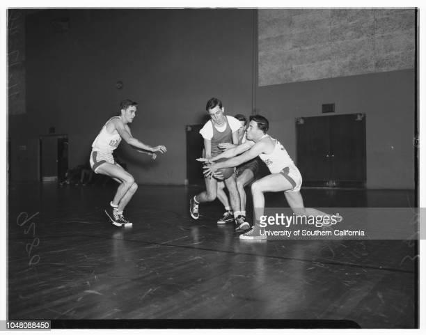 United States Naval Base boxing bowling basketball 17 November 1948 Linwood BowserPerry EastepRobert TuthillRichard FreemanGeorge JonesCoach Jake...