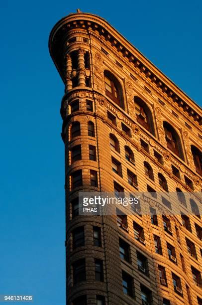 United States New York City Manhattan Flatiron building Fifth Avenue Architect DH Burnham and Company Daniel Burnham and Frederick Dinkelberg