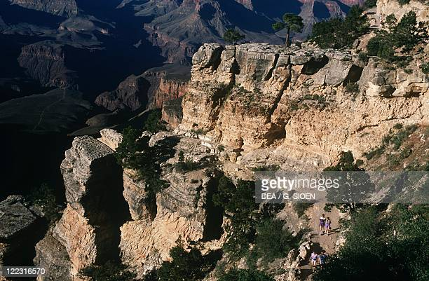 United States of America Arizona Grand Canyon National Park Bright Angel Trail