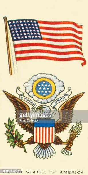 United States of America' circa 1935 From An Album of National Flags and Arms [John Player Sons circa 1935]Artist Unknown