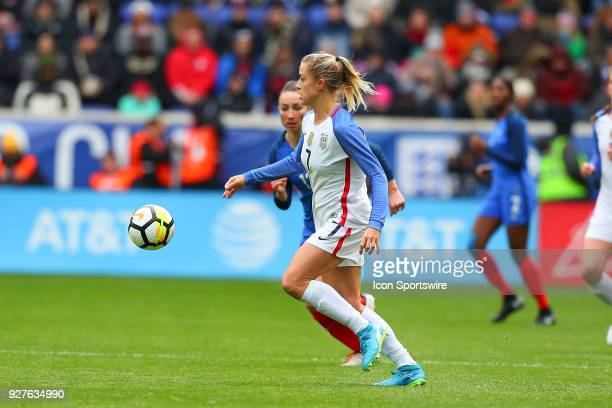 United States of America defender Abby Dahlkemper during the second half the SheBelieves Cup Womens Soccer game between the United States of America...