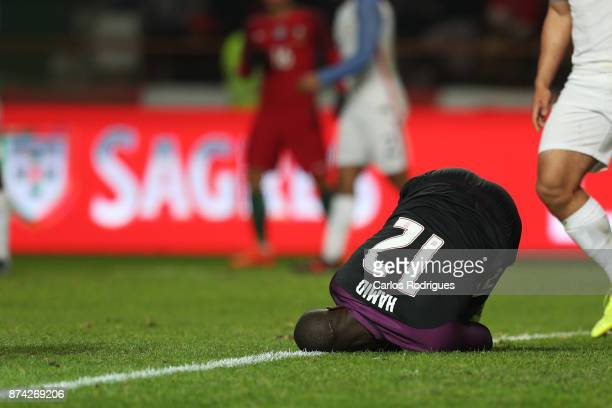 United States of America goalkeeper Bill Hamid during the match between Portugal and United States of America International Friendly at Estadio...