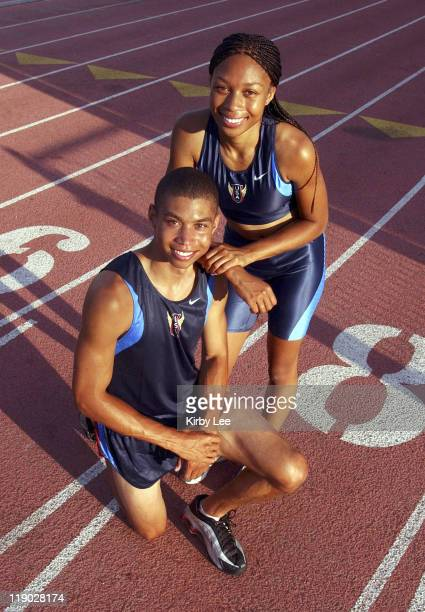 United States Olympic track and field hopefuls Wes and Allyson Felix Wes is a junior at the University of Southern California who won the 2003...