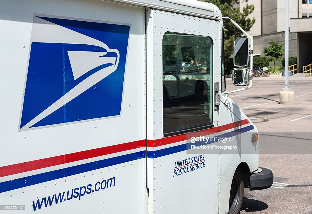 United States Post Office : Stock Photo