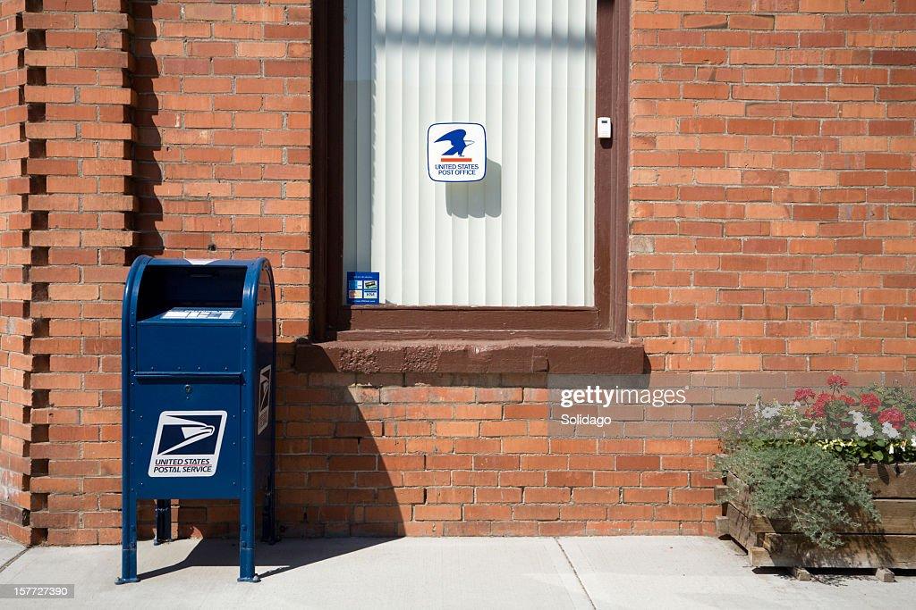 United States Postal Service In Rural America : Stock Photo