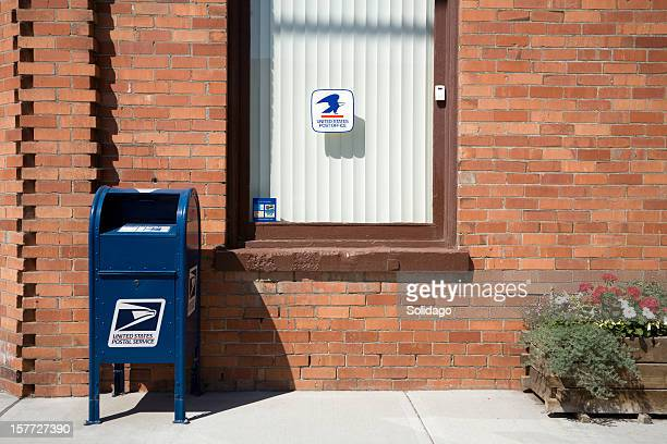 united states postal service in rural america - mailbox stock pictures, royalty-free photos & images