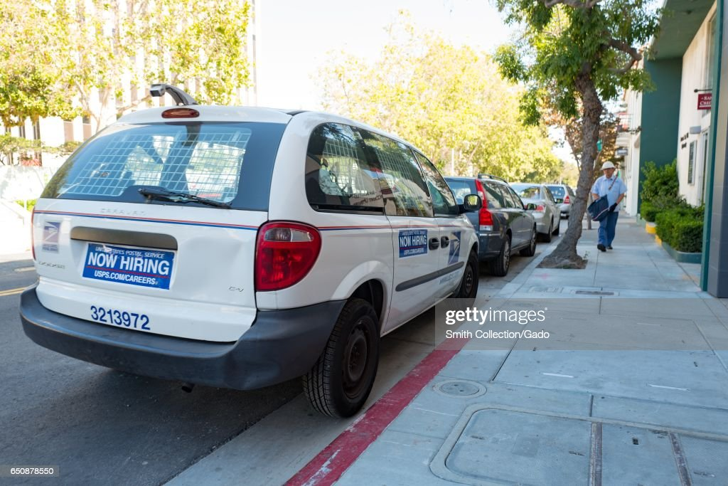 USPS Delivery Pictures   Getty Images