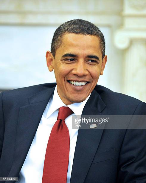 United States President Barack Obama meets bipartisan US Senate Leaders to consult with them on his upcoming US Supreme Court nominee in the Oval...
