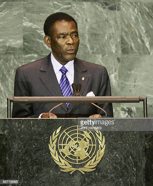United States: President Teodoro Obiang Nguema Mbasogo of the Republic of Equatorial Guinea addresses the 60th session of the General Assembly 17...
