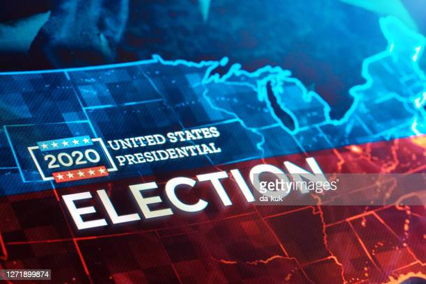 united states presidential election 2020 - united states presidential election stock pictures, royalty-free photos & images