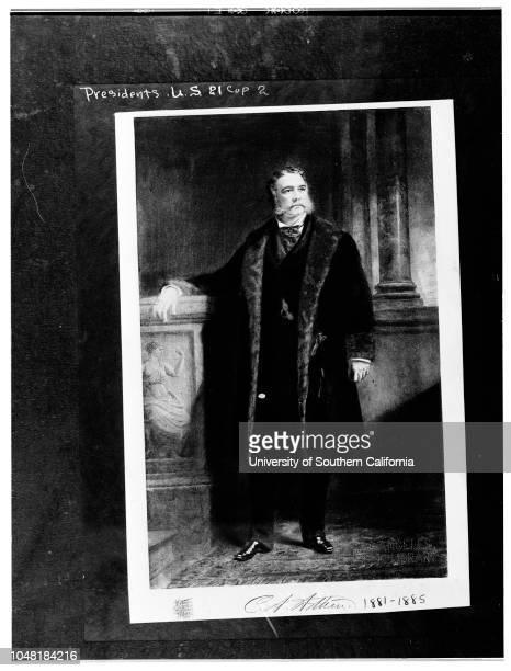 United States Presidentscopy negatives 7 December 1951 James BuchananWilliam H HarrisonZachary TaylorMillard FillmoreMartin Van BurenChester A Arthur