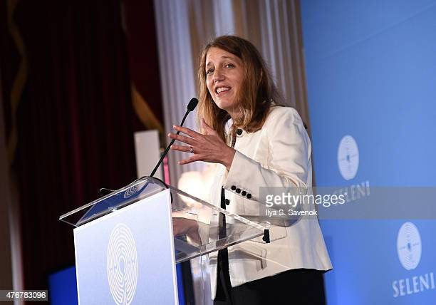United States Secretary of Health and Human Services Sylvia Burwell speaks during Seleni Institute's First Annual Winnifred Mason Huck Leadership...