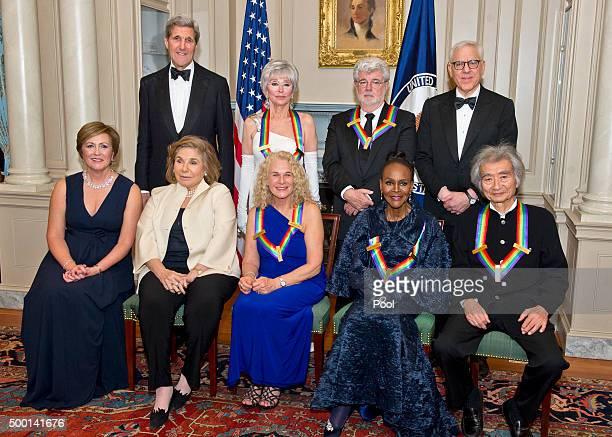 United States Secretary of State John Kerry Rita Moreno George Lucas and David M Rubenstein Chairman John F Kennedy Center for the Performing Arts...