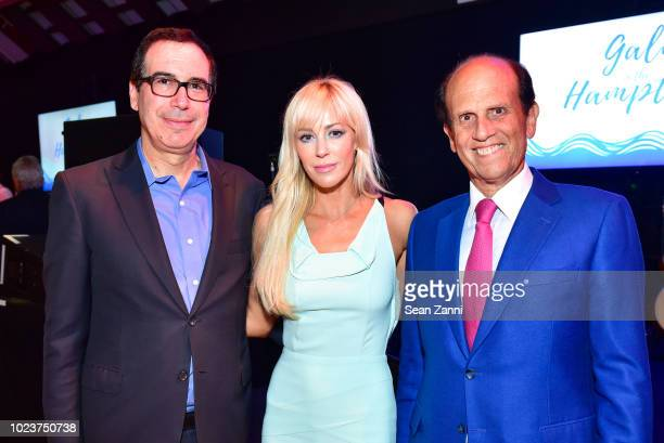 United States Secretary of the Treasury Steven Mnuchin Louise Linton and Mike Milken attend the 14th Annual Prostate Cancer Foundation's Gala In The...