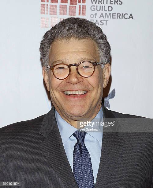 United States Senator Al Franken attends the 2016 Writers Guild Awards New York ceremony at The Edison Ballroom on February 13 2016 in New York City