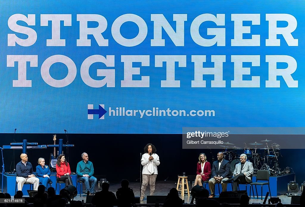 Katy Perry Holds Get Out The Vote Concert In Support Of Hillary Clinton In Philadelphia, Pennsylvania