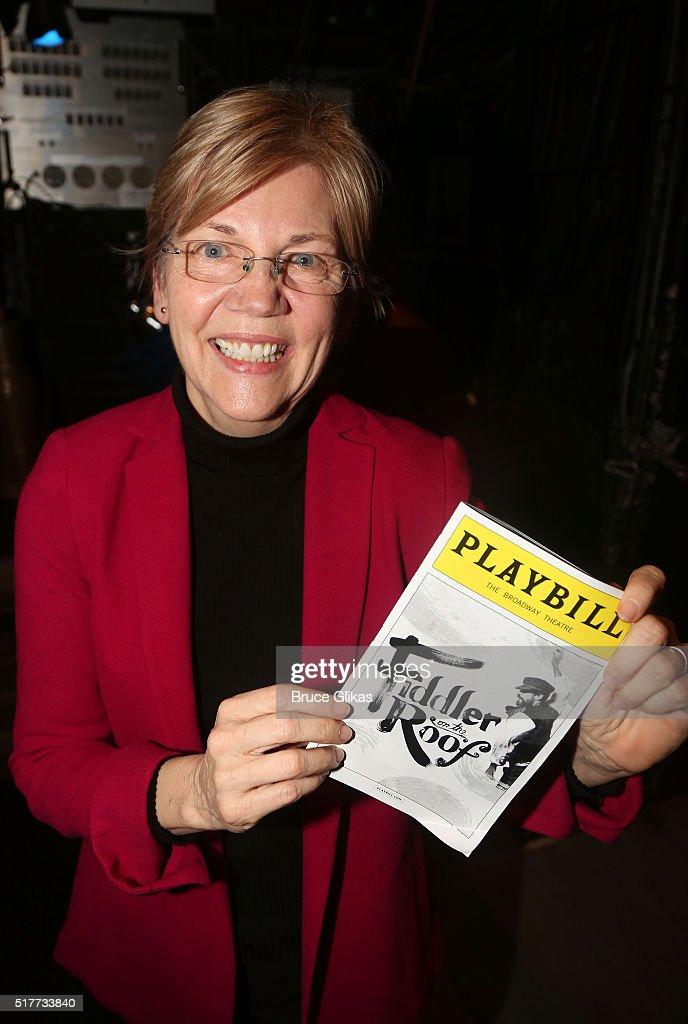 Celebrities Visit Broadway - March 26, 2016