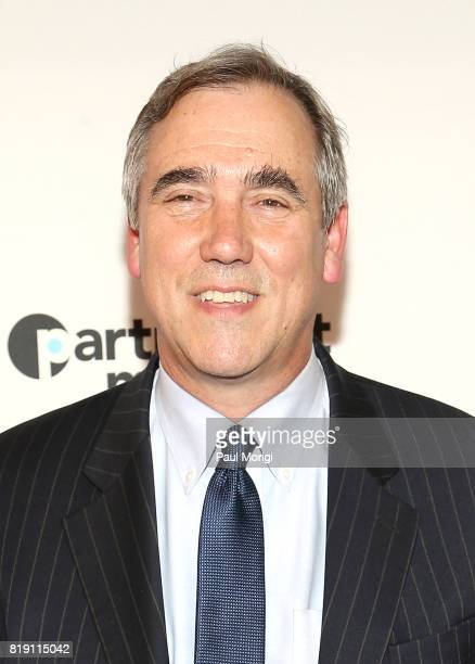 United States Senator Jeff Merkley attends a special Washington DC screening of 'An Inconvenient Sequel Truth to Power' at The Newseum on July 19...