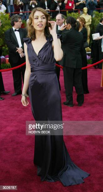 United States: Sofia Coppola arrives for the 76th Academy Awards ceremony 29 February, 2004 at the Kodak Theater in Hollywood, CA. Coppola is...