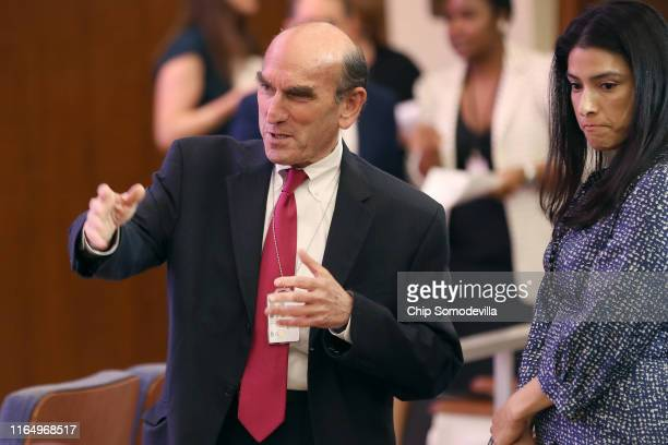 United States Special Representative for Venezuela Elliott Abrams attends the Department of State 230th Anniversary Celebration at the Harry S Truman...
