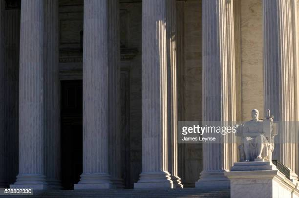 united states supreme court building - supreme court stock pictures, royalty-free photos & images