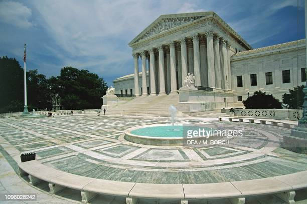 United States Supreme Court Building Washington DC District of Columbia United States of America 20th century