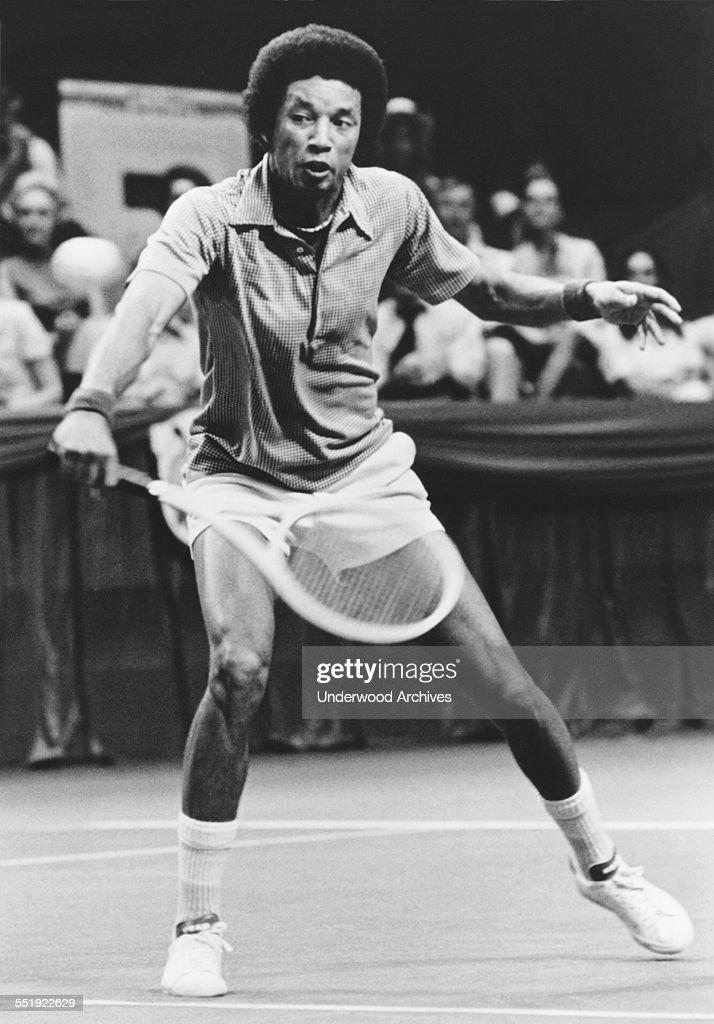 Tennis Champion Arthur Ashe : News Photo