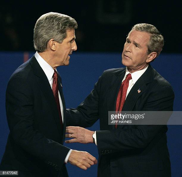 the first presidential debate president george bush and senator john kerry You forgot poland is a popular catchphrase adopted by george w bush's detractors to the first round of bush-kerry presidential debate was held at the university of in response to senator kerry's sharp criticism, president bush began his rebuttal by pointing out that kerry.
