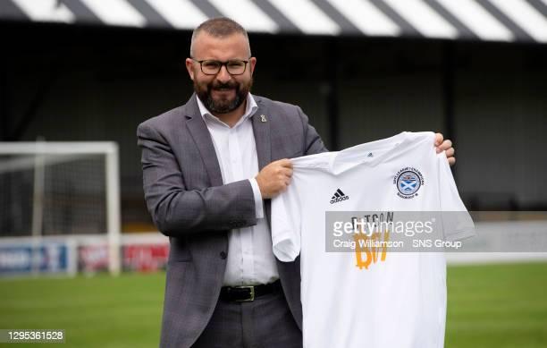 Ayr United Commercial manager Graeme Miller