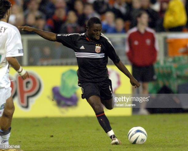United's Freddy Adu in action against the New England Revolution at RFK Stadium in Washington DC, Saturday, November 6, 2004. Regulation ended 3-3,...