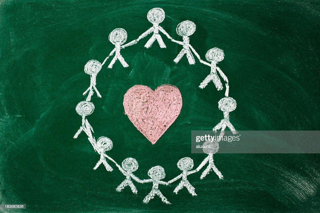 unity and love : Stock Photo