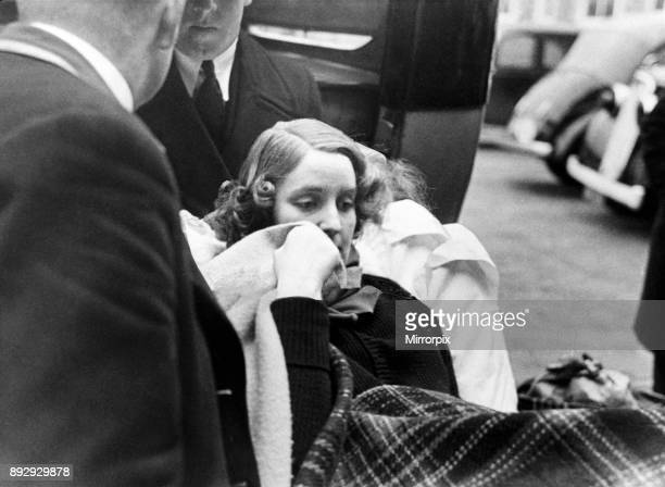 Unity Mitford arrives in Folkestone from Germany Wrapped in blankets on the quatside Unity was said to be injured with a shot to the head 3rd January...