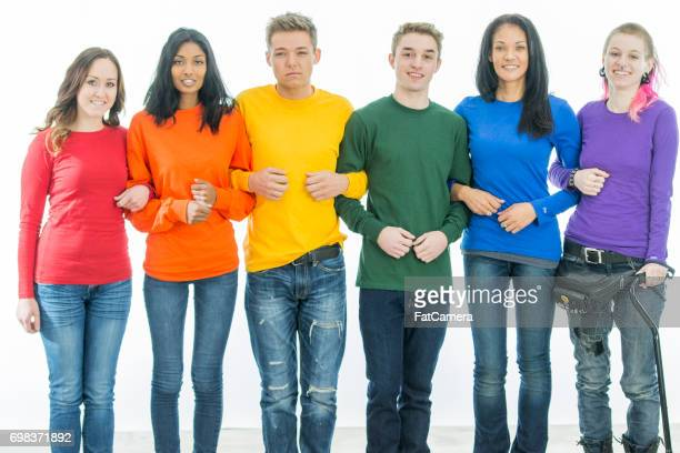 unity - transgender man stock photos and pictures