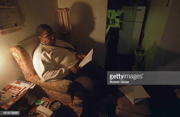 Unity Tower resident Sidney Lanier complained to the BHA about security guards sleeping on the job in his South End elderly housing building.