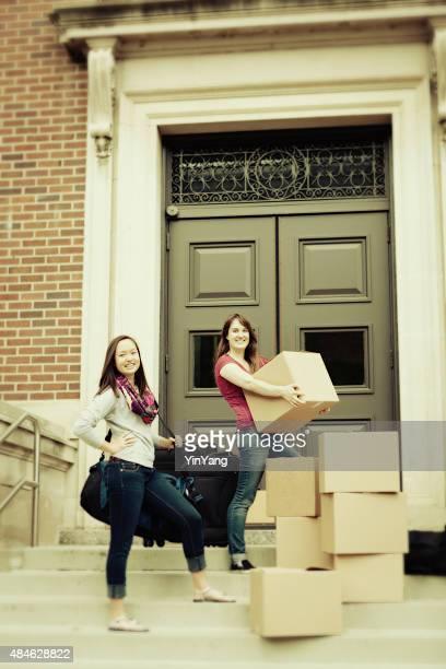 Campus de l'université, les étudiants se déplacer Dortoir Vertical