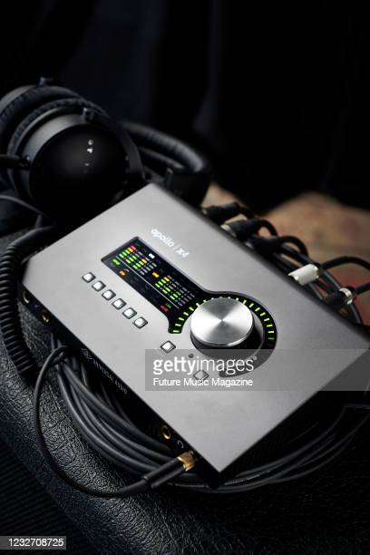 Universal Audio Apollo x4 audio interface, taken on January 31, 2020.