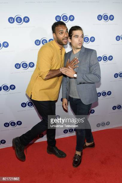DIEGO 'Universal Cable Productions Talent Party' Pictured Arjun Gupta Jason Ralph