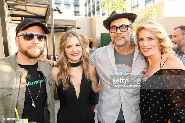DIEGO 'Universal Cable Productions Talent Party' Pictured James Roday Maggie Lawson Todd Stashwick and Kirsten Nelson