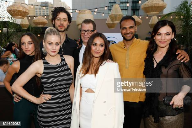 DIEGO 'Universal Cable Productions Talent Party' Pictured Stella Maeve Olivia Taylor Dudley Hale Appleman John McNamara Summer Bishil Arjun Gupta and...