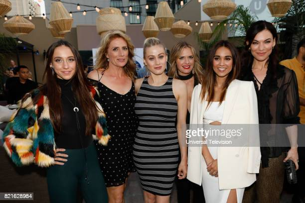 DIEGO 'Universal Cable Productions Talent Party' Pictured Stella Maeve Kirsten Nelson Olivia Taylor Dudley Maggie Lawson Summer Bishil and Sera Gamble