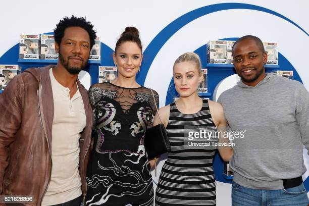 DIEGO 'Universal Cable Productions Talent Party' Pictured Tory Kittles Sarah Wayne Callies Olivia Taylor Dudley and Dulé Hill