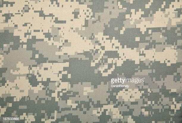 universal camouflage pattern (cold) - camouflage stock pictures, royalty-free photos & images