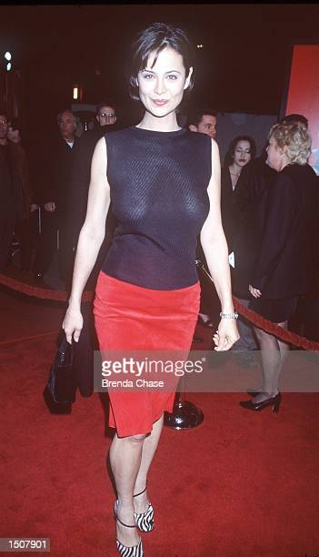 Universal City CA Catherine Bell at the premiere of EDtv