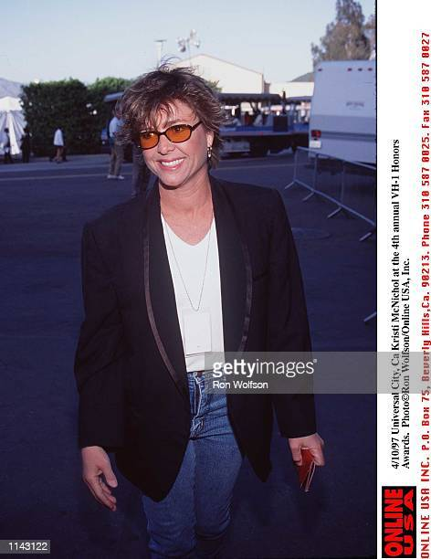 Universal City Ca Kristi McNichol at the 4th annual VH1 Honor Awards