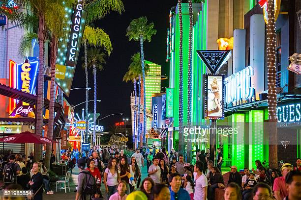 universal citywalk hollywood - orlando florida stock photos and pictures
