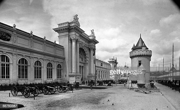 Universal exhibition of 1889 Paris The Palace of the War ministery